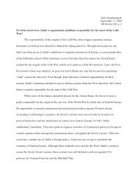 essays on origins of cold war origins of the cold war uk essays