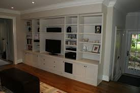 custom made built in audio wall unit by s
