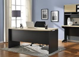 work table office. Amazon.com: Ameriwood Home Pursuit Executive Desk, Natural/Gray: Kitchen \u0026 Dining Work Table Office