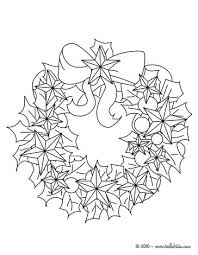 Christmas Wreath Coloring Page Wreaths Pinterest Weareeachother