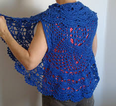 Crochet Circular Vest Pattern Free Unique Crochet Circle Sweater Shrug Crochet And Knit