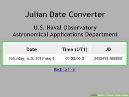 Easy Ways To Read Julian Dates 8 Steps With Pictures