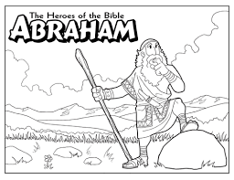 Abraham And God Colouring Pages Page Bebo Pandco