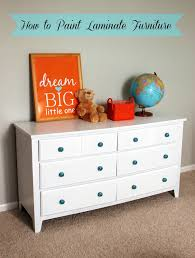 Painting Laminate Bedroom Furniture Old Dresser Makeover How To Paint Laminate Furniture