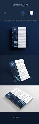 Free Creative Resume Psd Template Creative Tacos