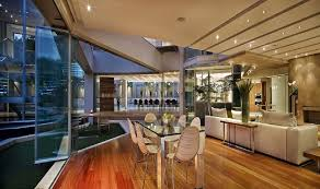 Amazing Room Interior Ideas at Impressive Glass House in Johannesburg,  South Africa
