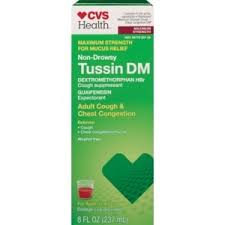 Cvs Health Tussin Dm Adult Cough Chest Congestion Maximum Strength Liquid