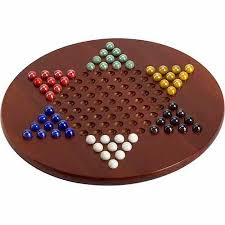 Game With Wooden Board And Marbles CHH 100 Jumbo Chinese Checkers with Marbles Walmart 66