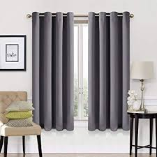 blackout curtains pair. Plain Curtains EASELAND 99 Blackout Curtains 2 Panels Set Room Darkening Drapes Thermal  Insulated Solid Grommets Window In Pair H