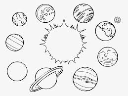 Small Picture Solar System Color Page Printable Solar System Coloring Pages