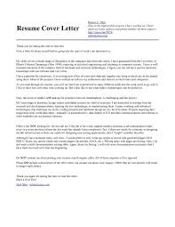 Computer Science Cover Letter Cover Letter For Computer Science Yupar Magdalene Project Org