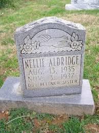Nellie Aldridge (1935-1937) - Find A Grave Memorial