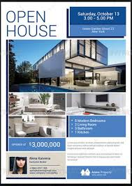spectacular open house flyers  psd amp word templates  demplates