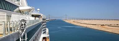 Im suezkanal stauen sich die frachter. Suezkanal Kreuzfahrten Von Aida Faszinierende Passage