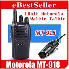 motorola walkie talkie headset. 1 unit motorola walkie talkie headset mt 918 5w original high quality