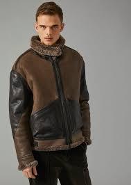 giorgio armani leather jacket man f