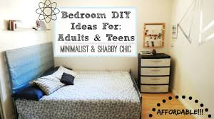 Small Bedroom For Adults Bedroom Makeover Diy Ideas For Adults Dorm Rooms Teens