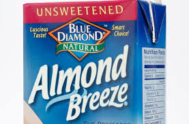 almond breeze almond milk recalled because it may conn actual milk