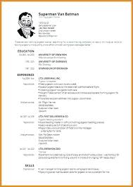 How To Write A Killer Resume New Post Grad Resume Examples