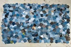 Blue jean pocket quilt, But I'm thinking it would make a cool rug ... & Blue jean pocket quilt, But I'm thinking it would make a cool rug Adamdwight.com