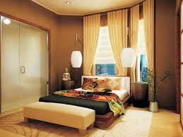 bedroom: Awesome Design Of Asian Bedroom Decor With Wooden Bed Again Cozy  Mattress Between Simple