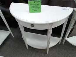half moon table with drawer moon table with drawer alluring console white o tables ideas entry half moon table with drawer
