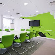 wall murals office. contemporary murals techno wall mural in office conference room throughout wall murals office