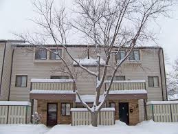 Apartment Building In Snow Free Stock Photo Public Domain Pictures