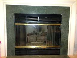 gas fireplace covers glass