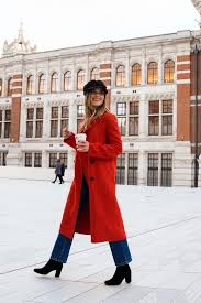 red winter coat erie nick a london based style travel blog by erica aulds
