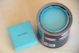 The color code for Tiffany blue furniture paint.