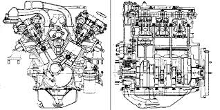 sae 920677 sectional view of the kl engine