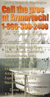 free estimates sink vanity and countertop refinishing contractor portland vancouver