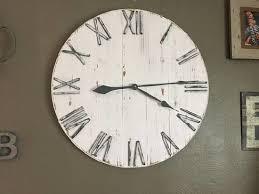china 24 wall clock farmhouse clock