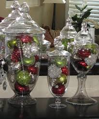 Apothecary Jar Decorating Ideas Homey Ideas Apothecary Jars Christmas Decorations Chritsmas Decor 28