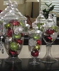 Apothecary Jars Decorating Ideas Homey Ideas Apothecary Jars Christmas Decorations Chritsmas Decor 43