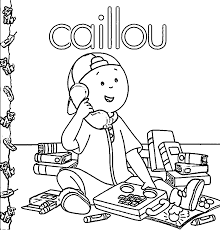 Small Picture Printable caillou coloring pages ColoringStar