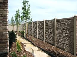 brown vinyl fence panels. Image Of: Good Vinyl Fence Panels Ideas Brown S