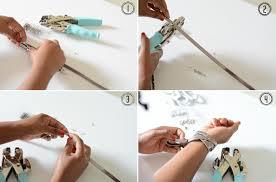 of diy givenchy inspired wrap studded bracelet 2