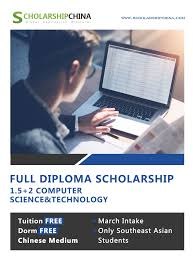 1 5 2 Computer Science Diploma Study In China With