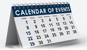 Image result for calendar of events