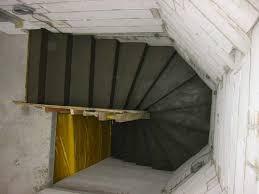 Kurzeinführung erzeugen einer viertel gewendelte treppe. Stuwe Betontreppe Treppen Rohbau