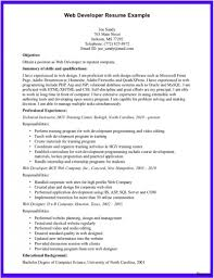 Web Designer Resume Example Web Designer Resume Example Download Developer Template Sample 60a 34