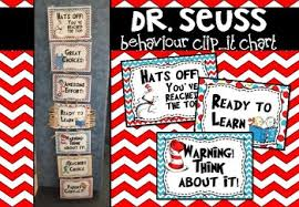 Dr Seuss Chart Dr Seuss Behaviour Chart