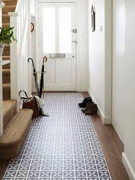 With its nature-inspired pattern in a soft shade of violet, bring colour  and charm to hallways with with Dee Hardwicke's Lattice Hellebore vinyl  floor tiles ...