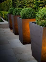 Contemporary Outdoor Planters Ideas 14 Modern Garden