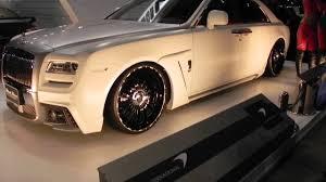 rolls royce ghost black 2013. 458 italia wald rolls royce ghost black bison tokyo auto salon 2013 part 39 youtube