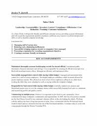 Template Resume Templates Clerical Examples Of Resumes Sales Clerk