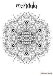 Poppy Makes A Mandala Colouring Page I Have Made A New Mandala