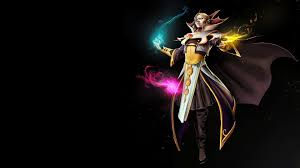 story hero dota 2 carl the invoker the greatest magician dota2